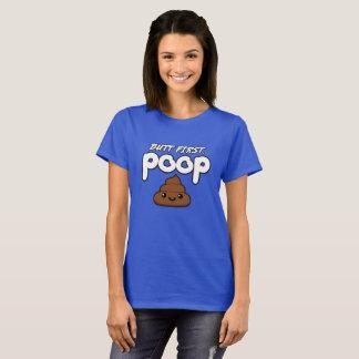 Butt First Poop T-Shirt