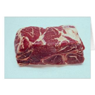 Butt pork roast card