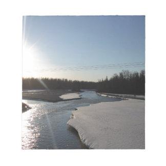 Butte Alaska Notepad