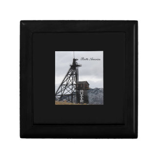 Butte Gallows Frame Keepsake/Gift Box