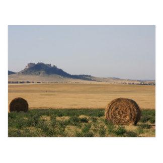 Butte In Nebraska Postcard