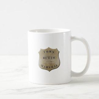 Butte Town Marshal Coffee Mug