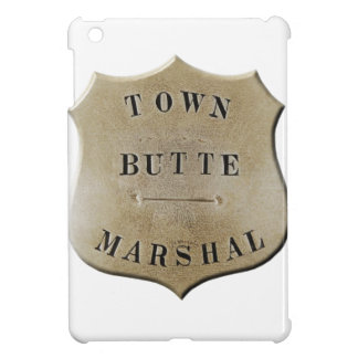 Butte Town Marshal iPad Mini Cover