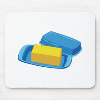 Butter Dish Mouse Pad