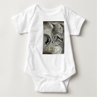 butter meow baby bodysuit