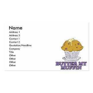 butter my muffin business card