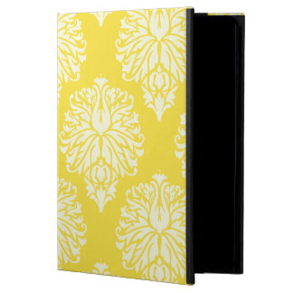 Butter Yellow Southern Cottage Damask Cover For iPad Air