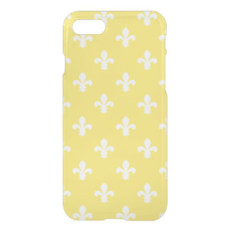 Butter Yellow Southern Cottage Fleur de Lys iPhone 8/7 Case