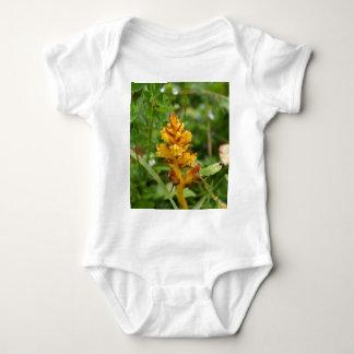 Butterbur broom (Orobanche flava) Baby Bodysuit