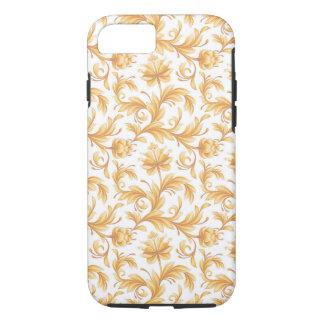 Buttercream Yellow Floral Flourish Flowers iPhone 7 Case