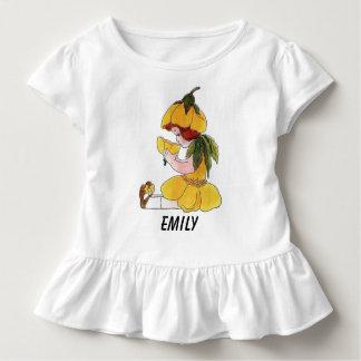 Buttercup Flower Child Funny Cute Little Girl Toddler T-Shirt