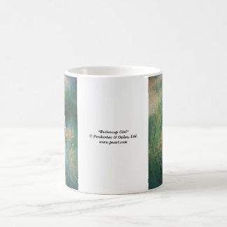 Buttercup Girl Classic White Coffee Mug
