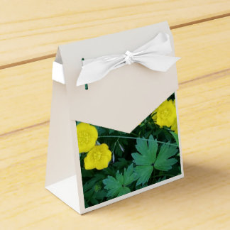 Buttercup Themed Tent Favor Box
