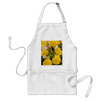 Buttercups and grass head aprons