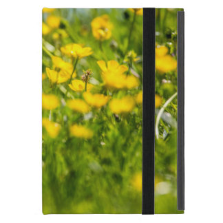 Buttercups in motion cover for iPad mini