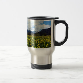 Buttercups Near Mount Lassen, Northern California Mug