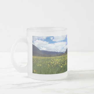 Buttercups Near Mount Lassen, Northern California Mugs
