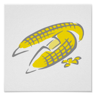 Buttered Corn on the Cob Poster