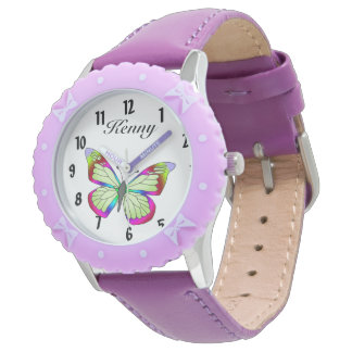 Butterfies are here wrist watch