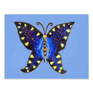Butterflew the butterfly personalized announcements