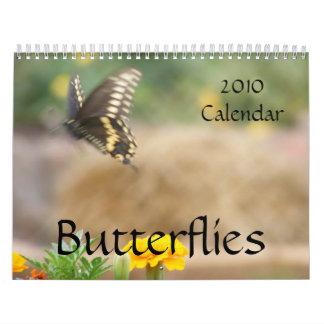 Butterflies 2010 Calendar