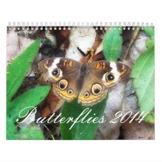 Butterflies 2014 calendar