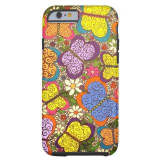 Butterflies 2 Phone Case Tough iPhone 6 Case