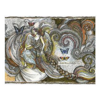 Butterflies, 2 - Postcard