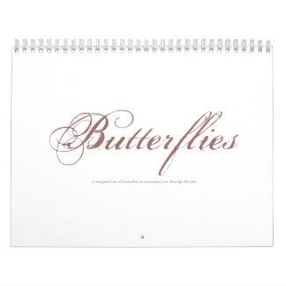 Butterflies, A compendium of butterflies to acc... Calendars