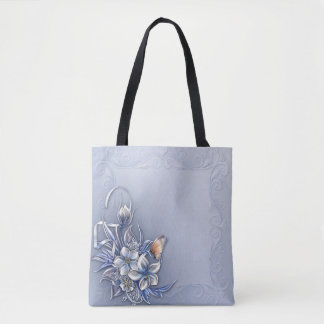 #Butterflies All-Over-Print Tote Bag, Medium