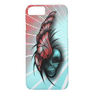 Butterflies and a Skull iPhone 8/7 Case