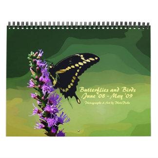 Butterflies and Birds Calendars