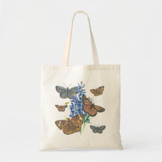 Butterflies and Bluebonnets Tote Bag