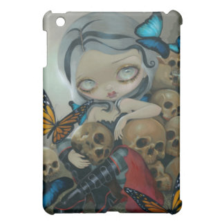 """Butterflies and Bones"" iPad Case"