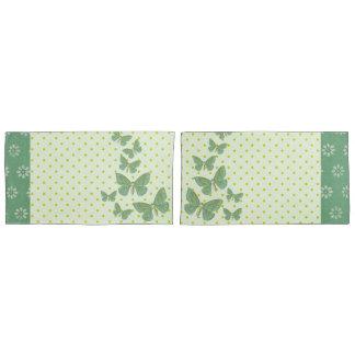 Butterflies and Daisy's Reversible Pillowcase