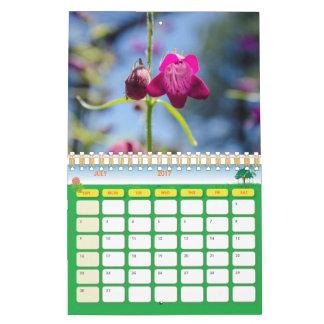 Butterflies and Floweres Calender Wall Calendar