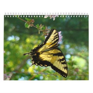 Butterflies and Flowers Wall Calendar
