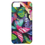 Butterflies and Peacock Case For iPhone 5C