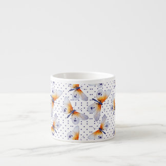 Butterflies And Purple Dots Espresso Cup