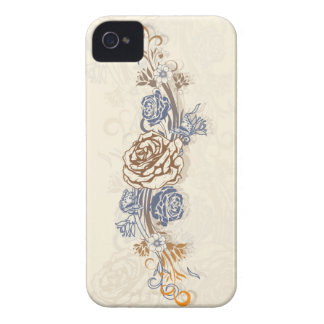 Butterflies and Roses iPhone 4 Case-Mate Cases