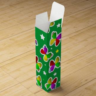Butterflies and Stars Wine Gift Box