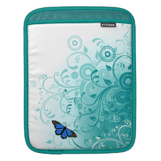 Butterflies and Swirls iPad Sleeve