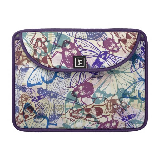 butterflies and to other insects sleeve for MacBook pro