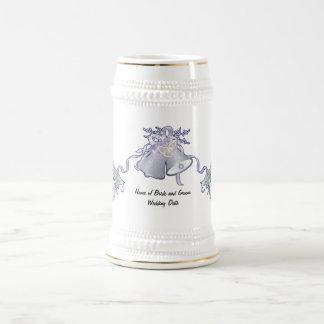 Butterflies and Wedding Bells Beer Stein