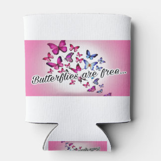 Butterflies are free... can cooler
