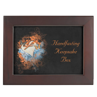 Butterflies at Samhain Handfasting Keepsake Gift Keepsake Box