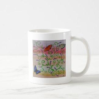Butterflies Basic White Mug