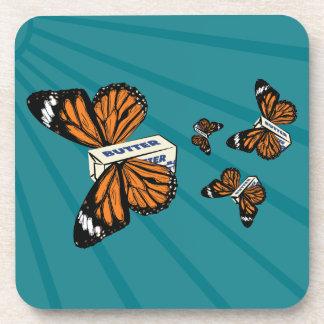 Butterflies Beverage Coaster