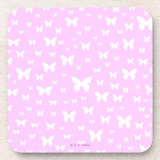 Butterflies Beverage Coasters
