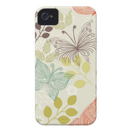 butterflies blackberry bold case